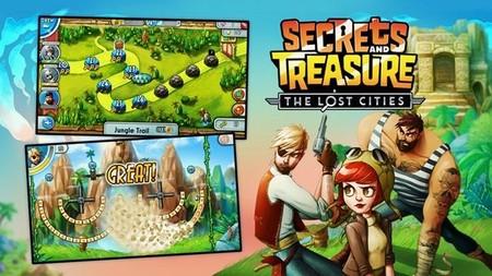 Secrets and Treasure: The Lost Cities, el Peggle de Windows 8 bajo el sello Xbox Games