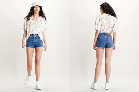 Ribcage Levis Shorts