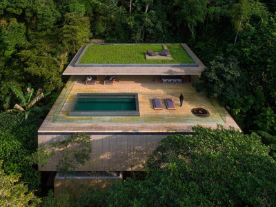 Casa Na Mata, arquitectura moderna en harmonía con su entorno
