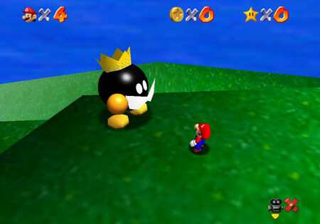Super Mario 64: cómo conseguir la estrella Big Bob-omb on the Summit de Bob-omb Battlefield