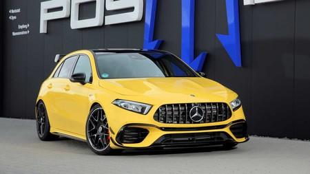 ¿421 hp te saben a poco? Este Mercedes-AMG A 45 S lleva el término hot-hatch a 525 hp