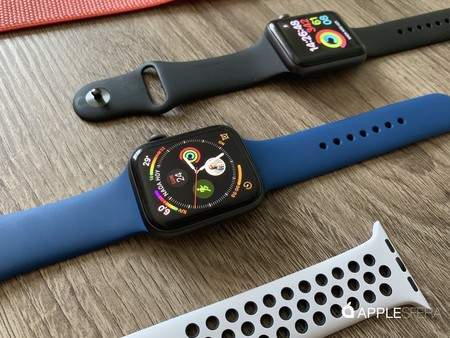 Apple Watch tamaños vs Galaxy active