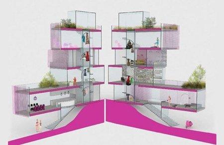 Una casa de diseño para Barbie
