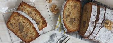 Cake de miel y nueces, receta ideal para desayunos y meriendas
