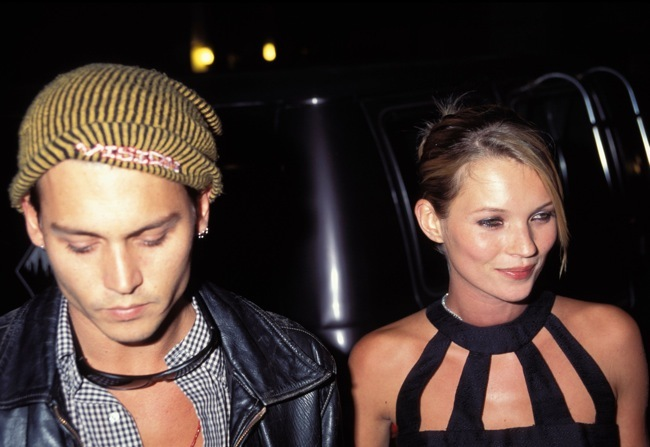 Kate & Johnny Depp