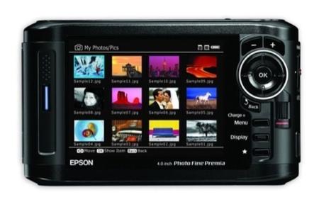 Epson P-7000 y P-6000, visores de fotografías