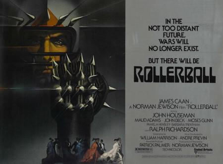 Ciencia-ficción: 'Rollerball ¿Un futuro próximo?', de Norman Jewison