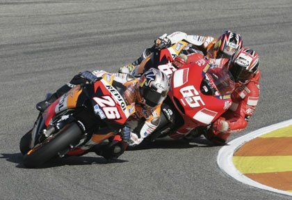 El campeonato de motociclismo en Cuatro