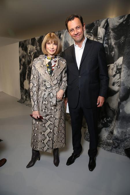 Anne Wintour Y Pierre Yves Roussel