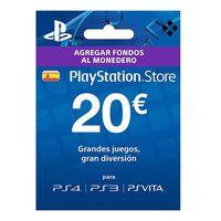 Vuelven los duros a 4 pesetas a eBay, con la tarjeta prepago de 20 euros para PSN por 15,99 euros