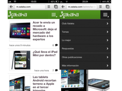Nueva versión móvil de Xataka: el cambio ha comenzado