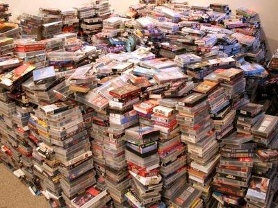 Betamax ha muerto, pero hay todo un mundo alrededor del vídeo VHS que se resiste a hacerlo
