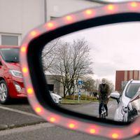 Ford desarrolla la tecnología Exit Warning que beneficiará a ciclistas y conductores
