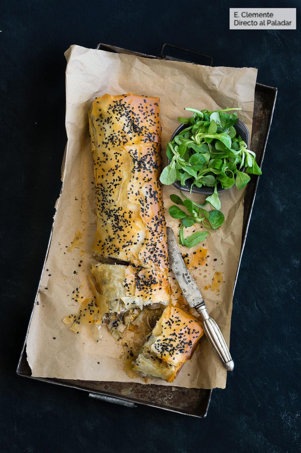 receta de pollo con champiñones para dieta