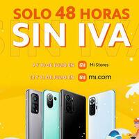 Xiaomi anuncia los días sin IVA con increíbles descuentos en sus productos durante 48 horas