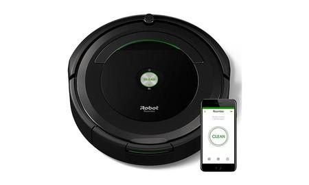 El Roomba 696 de iRobot, sólo nos costará 218,49 euros si lo pedimos a eBay usando el cupón PARATECH