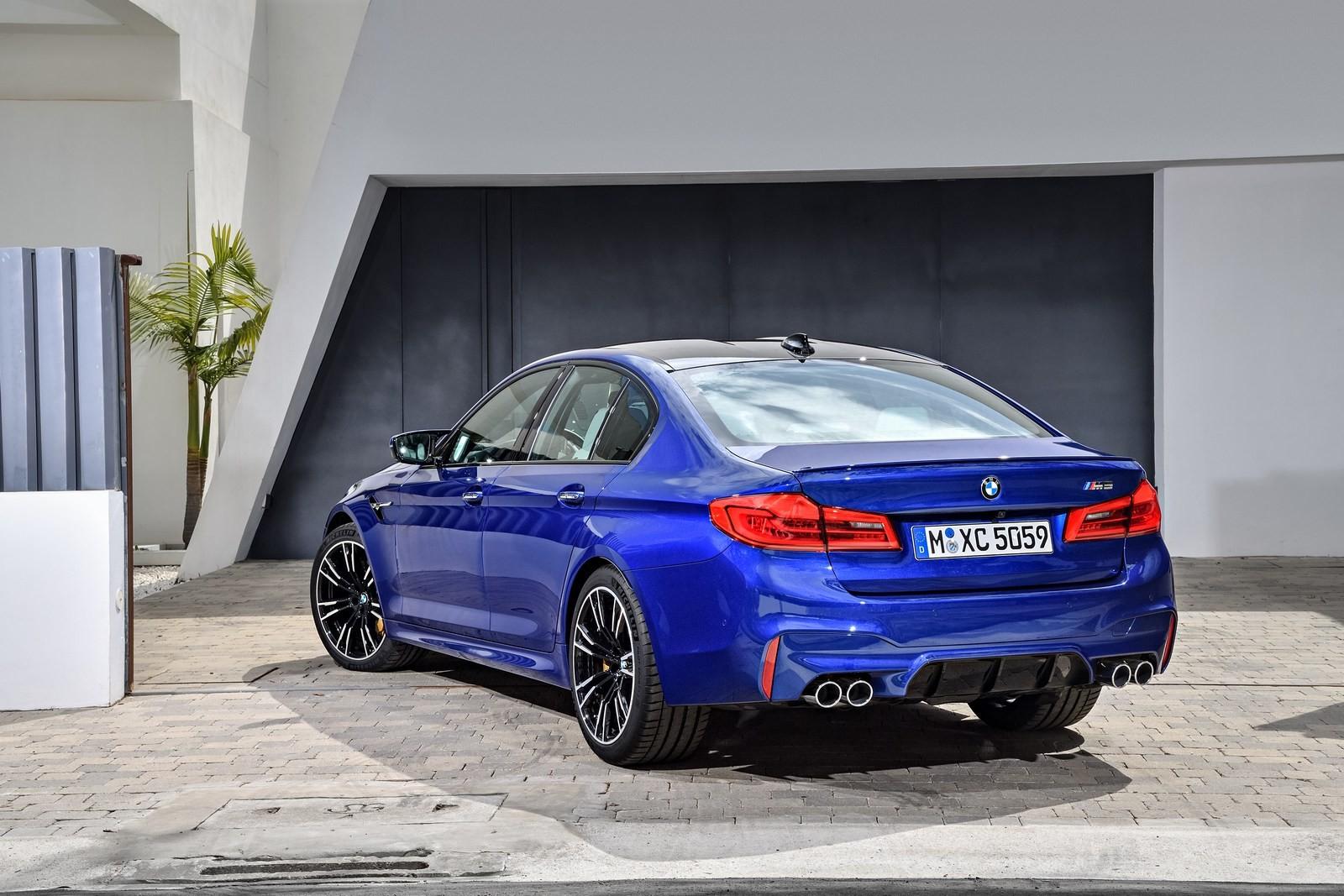Foto de BMW M5 2018 (21/57)