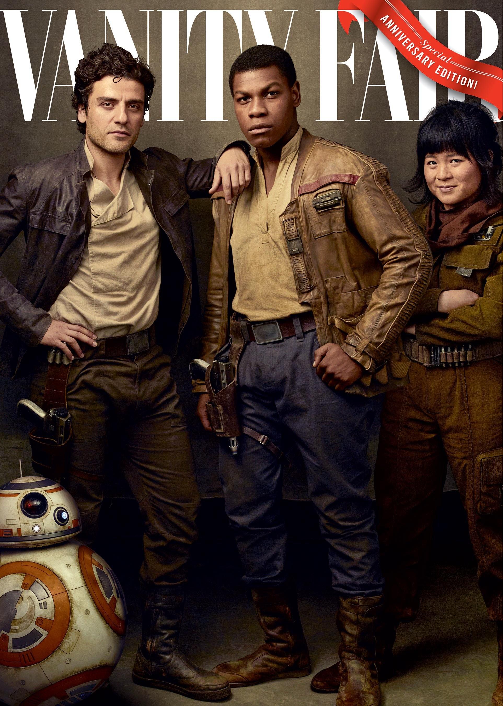 Foto de Annie Leibovitz retrata a los personajes de 'Star Wars: Los últimos jedi' (1/4)