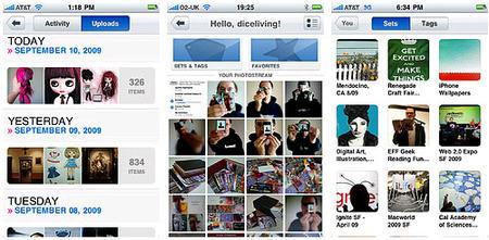 flickr lanza su aplicación para el iPhone
