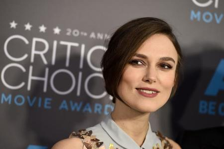 Keira Critics Choice Movie Awards 2015