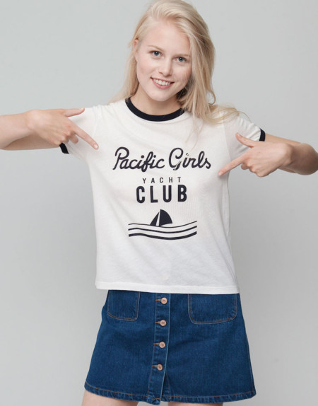 Camiseta Retro Pacific Girl
