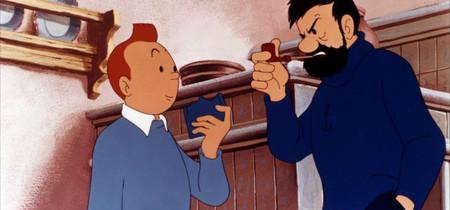 Tintin en el lago de los tiburones 1