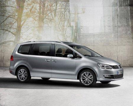 Volkswagen Sharan, ahora con el motor 2.0 TDI CR de 115 CV