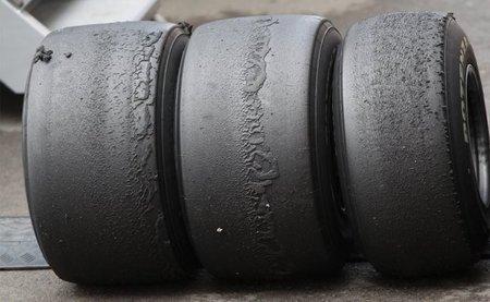 La Fórmula 1, crítica con los neumáticos Bridgestone