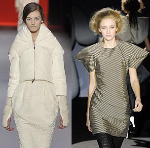 Diseños de moda arquitectónicos