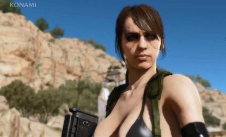 VX en corto: la sexifigurita de Quiet, jugadores, porno y estadísticas