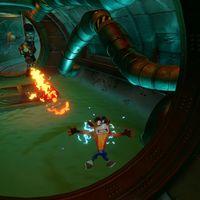 El nivel Sewer or Later de Crash 2 se deja ver en un gameplay de Crash Bandicoot N. Sane Trilogy de cinco minutos