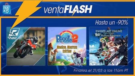 Venta Flash en la PSN del 18 al 21 de marzo
