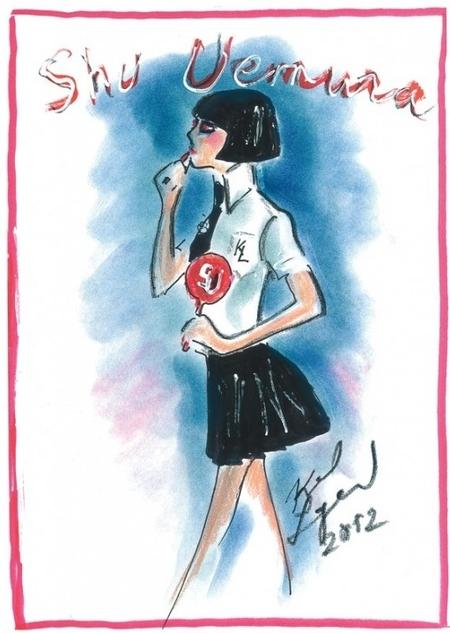 Mon Shu, el make up de Karl Lagerfeld by Shu Uemura