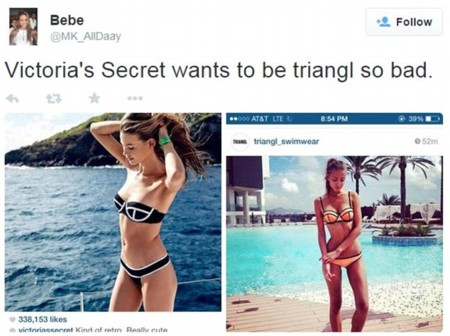 Victorias Secret Coleccion Swimwear 2015 Triangl 5