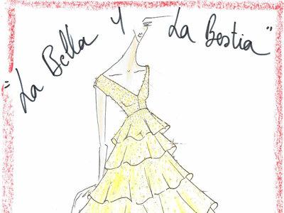Así ve Alvarno el vestido amarillo de Bella