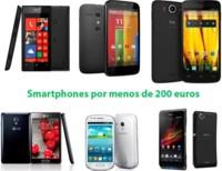 ¿Qué teléfonos móviles regalar esta Navidad por menos de 200 euros?