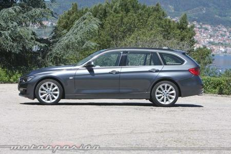 BMW 320d Touring lateral