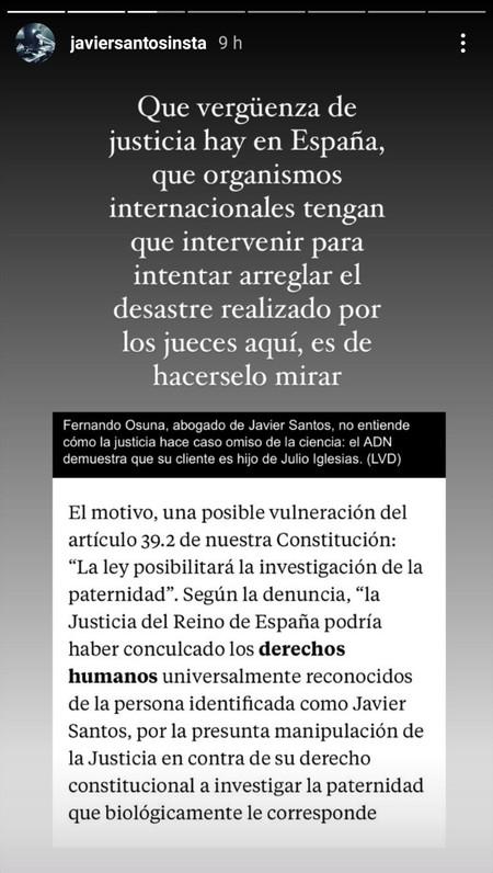 Javier Santos Julio Iglesias