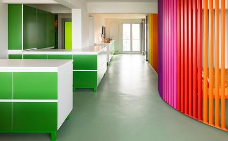 Apartamento multicolor