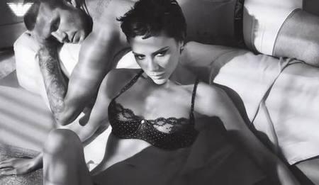 David y Victoria Beckham, juntos para Emporio Armani Underwear