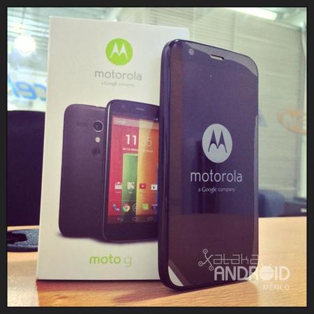 La memoria interna del Motorola Moto G es una simple microSD