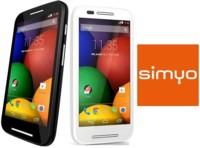 Precios Motorola Moto E con Simyo