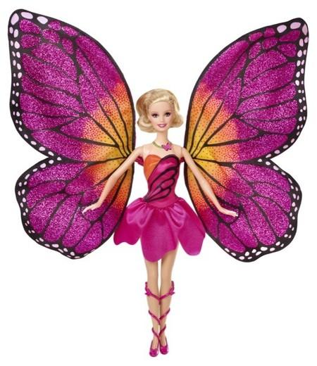 Barbie presenta su nueva aventura Barbie mariposa y princesa de las hadas