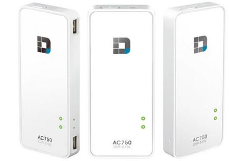 D-Link AC750 te ofrece conectividad portátil 802.11ac