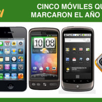Cinco móviles que marcaron el año 2010