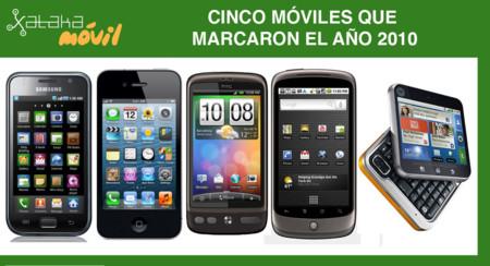 d2f9a7021d3 Cinco móviles que marcaron el año 2010