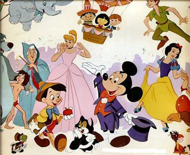 Los personajes Disney y Pocoyó son los favoritos de los niños