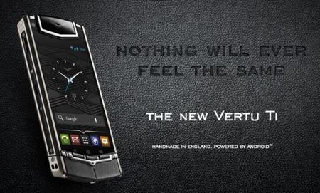 """""""Vertu Ti"""" el androide más caro del mercado"""