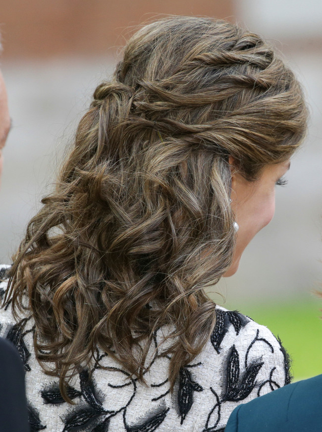 Peinado Reina Letizia Cervantes