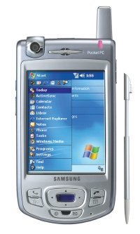 Samsung I700, un móvil inteligente con cámara giratoria